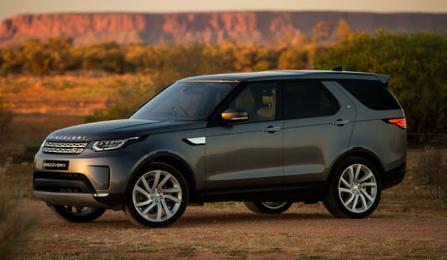 Land Rover Discovery обновляется и соответственно дорожает