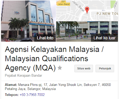 Rasmi - Jawatan Kosong (MQA) Agensi Kelayakan Malaysia 2019