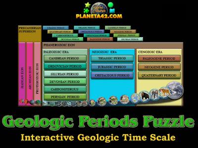 Geologic Periods Puzzle