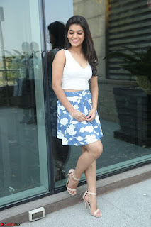 Yamini in Short Mini Skirt and Crop Sleeveless White Top 037.JPG