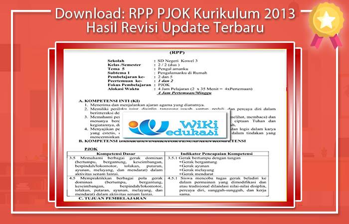 RPP PJOK SD Kurikulum 2013 PDF