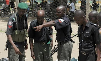 armed robbers killed police in lagos nigeria