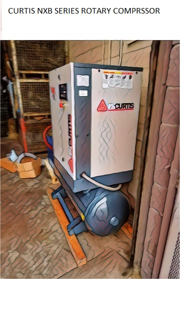 CURTIS NXB ROTARY SCREW COMPRESSOR