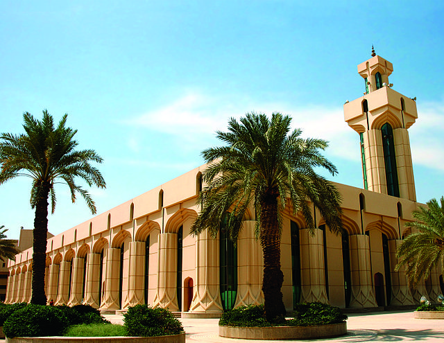 Masjid Palm, (Jama'a Al-Nakheel), King Saud University