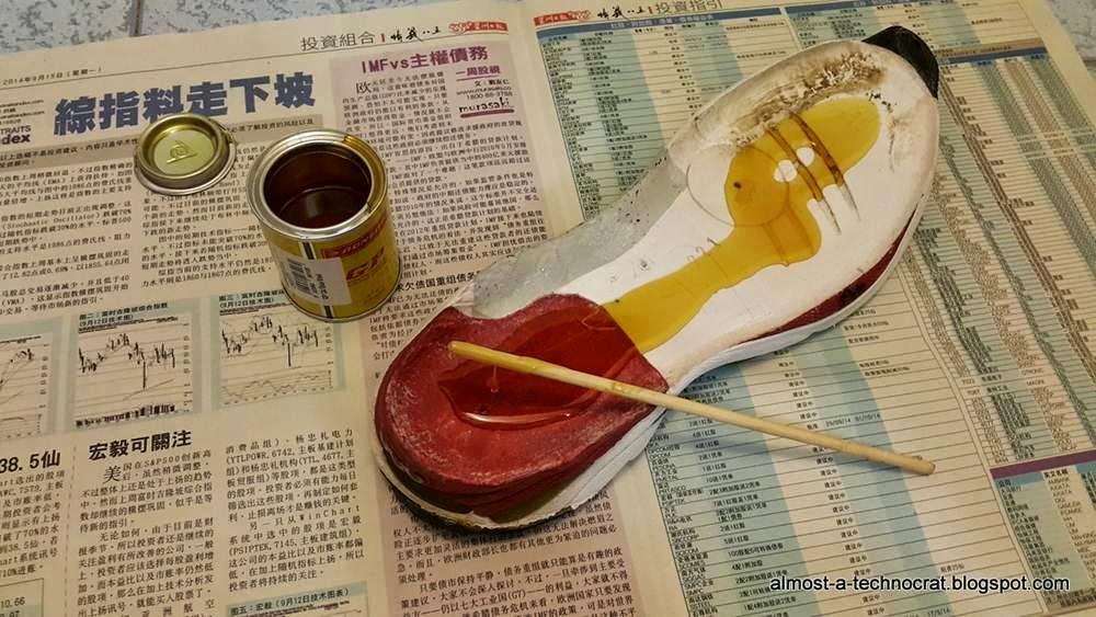 Repair Running Shoes Glue