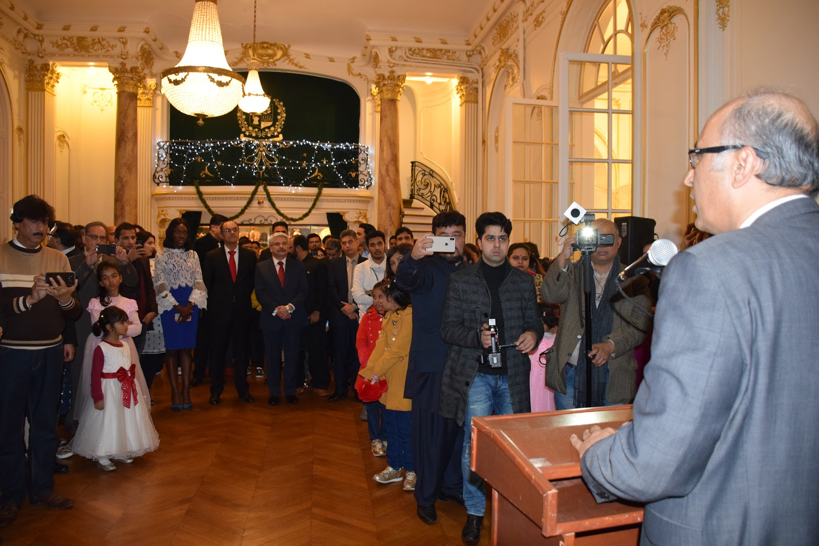 DAILY NEWS AND ARTICLES : Pakistan embassy in France hosts