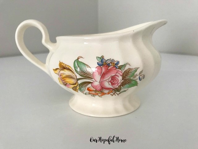 Edwin Knowles Creamer pattern KNO389 11-45