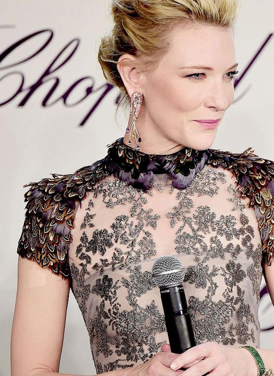 Cate Blanchett, analiza kolorystyczna, Jasne Lato, czerń