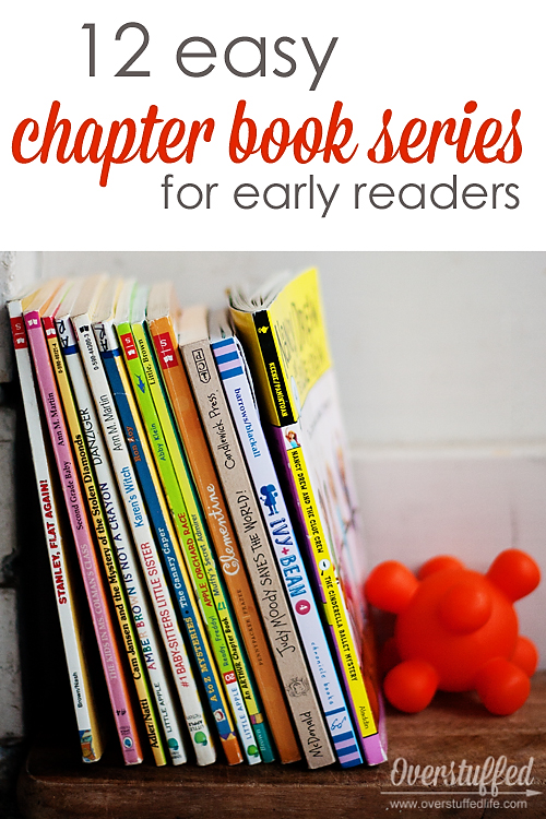 12 Easy Chapter Book Series For Early Readers Overstuffed