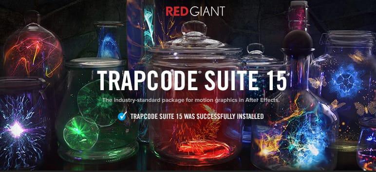 مجموعة فلاتر ترابكود كاملة أحدث اصدار Trapcode Suite 15.1.2 | للماك