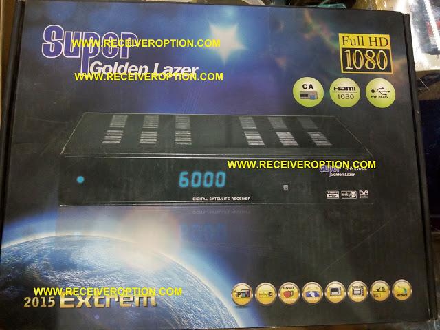 SUPER GOLDEN LAZER 2015 EXTREM HD RECEIVER BISS KEY OPTION