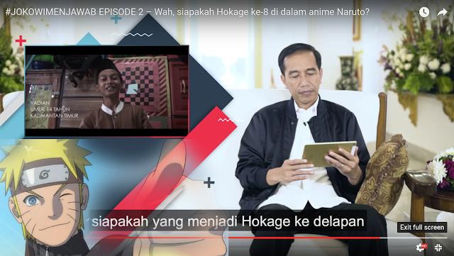 Siswi ini Tanya kepada Presiden Jokowi `Mending Jadi Orang Pintar apa Orang Baik`