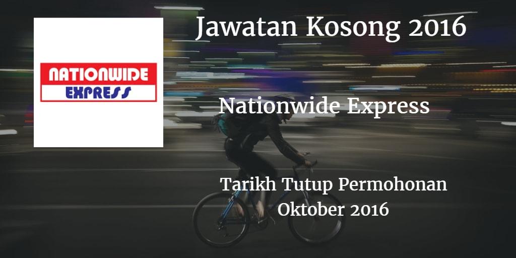 Jawatan Kosong Nationwide Express Oktober 2016