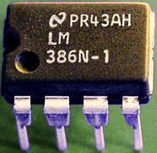 Esquema elétrico de amplificador