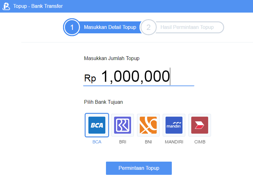 Cara Tambah Saldo (Top Up) di AirPay Indonesia via Bank Transfer