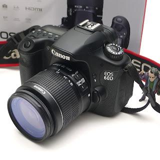 Kamera DSLR Canon EOS 60D Fullset