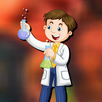 AvmGames Young Scientist Boy Rescue Walkthrough