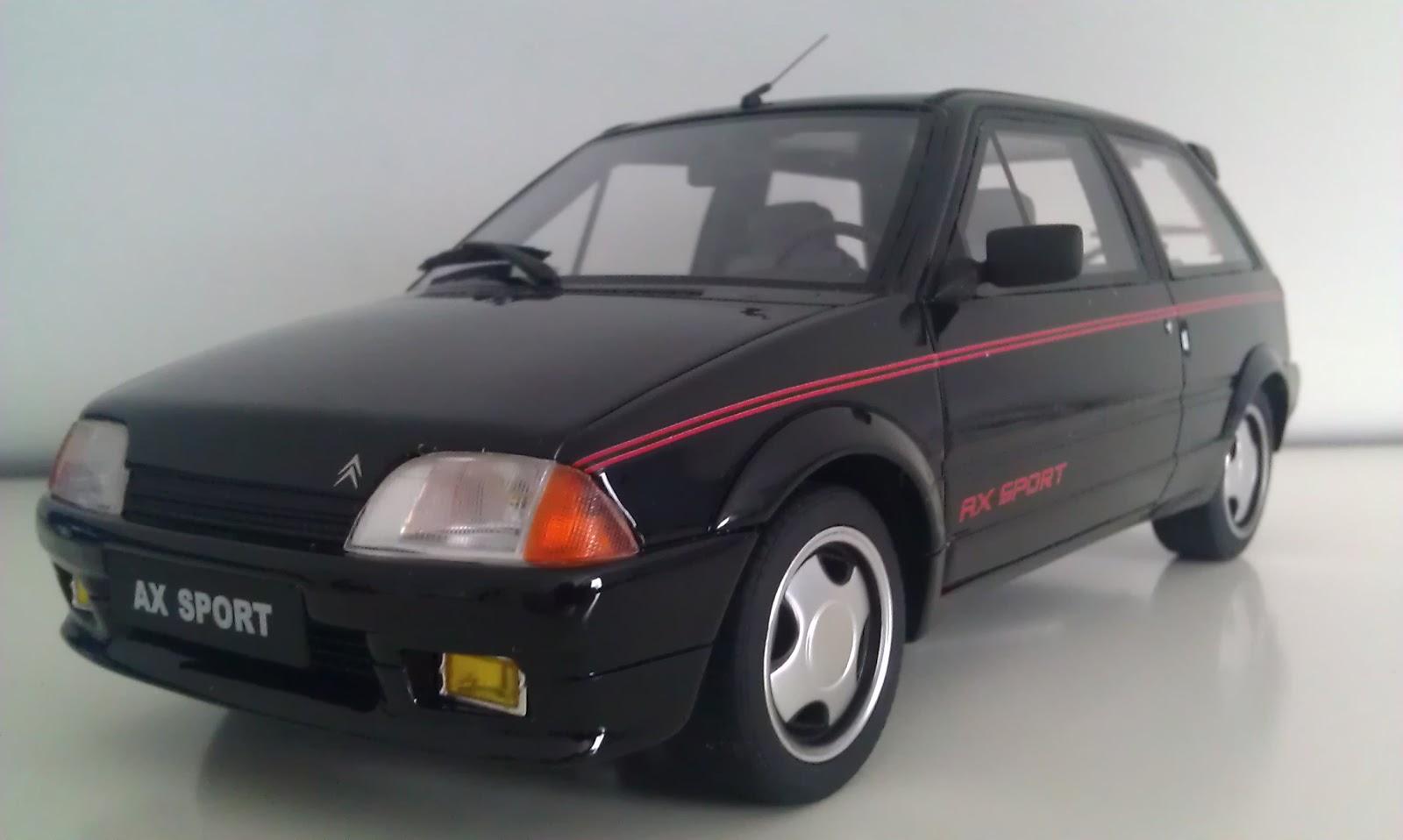 Miniatures Citroën: AX sport Otto models