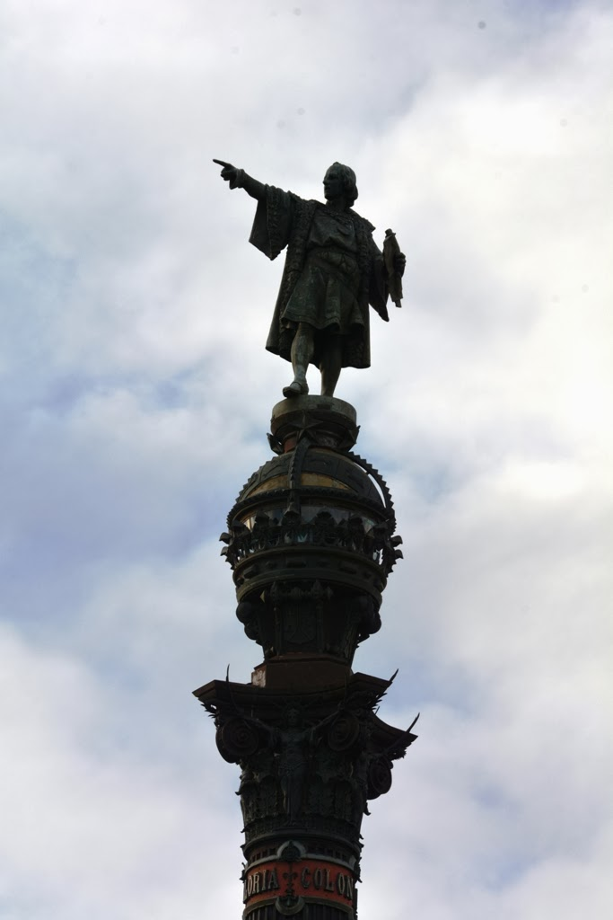 Christopher Columbus Column Barcelona