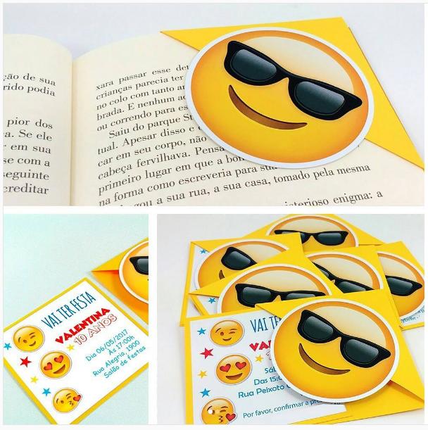 101 Fiestas Invitaciones De Emoji