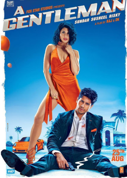 Poster of A Gentleman 2017 Full Movie 720p HDRip Hindi x264 Download