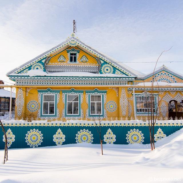 татарское деревянное зодчество