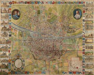 Plan de Paris 1771 d'après Berey (Absente des collections BnF)