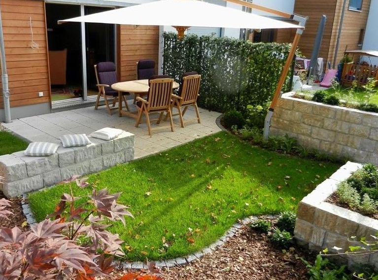 Desain Taman Belakang Rumah Gaya Minimalis Untuk Lahan Yang Sempit Terbaru