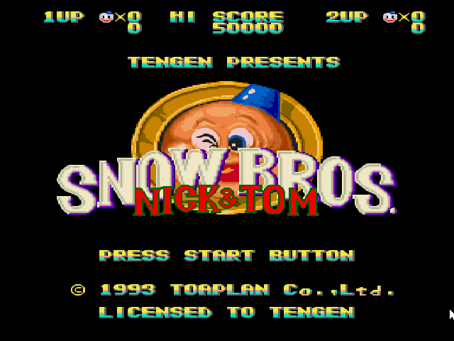 Snow Brothers Game Free Download Full Version