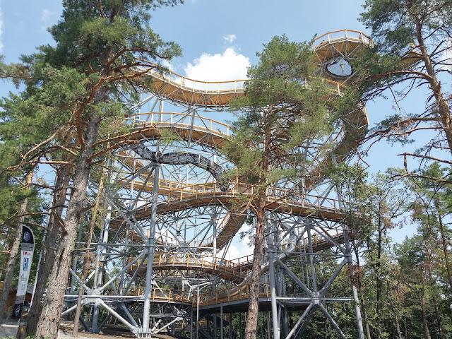 Vyhliadková Bojnická veža nová atrakcia na Hornej Nitre