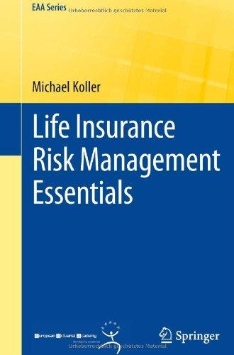 alt= Life Insurance Risk Management Essentials by Michael Koller