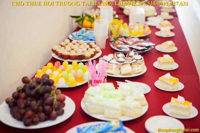 Tiệc nhẹ Teabreak