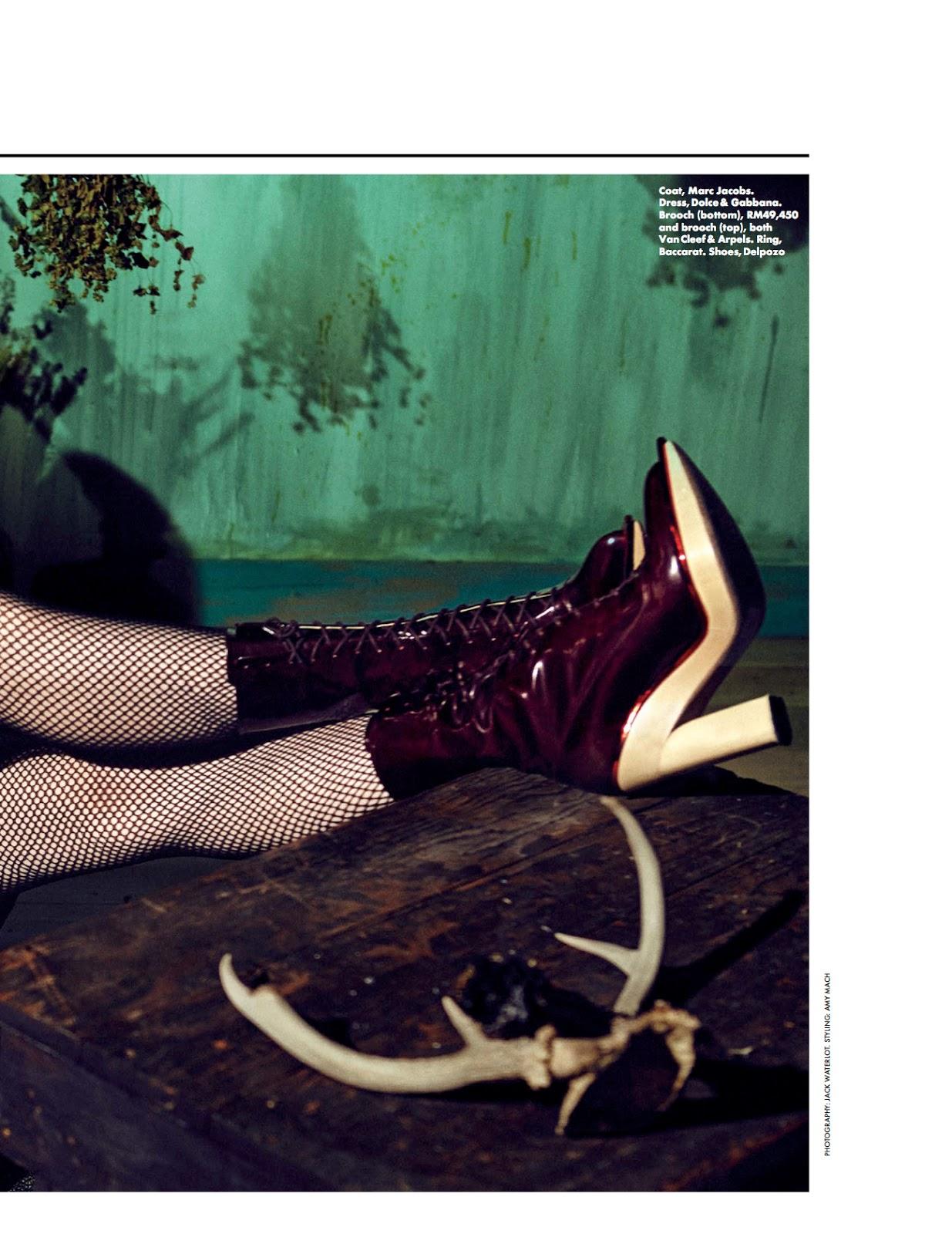 Mood Swing Kelly Mittendorf By Jack Waterlot For Elle