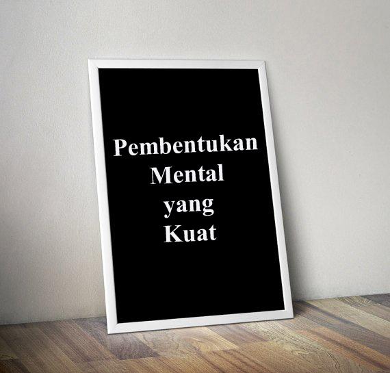 Pembentukan Mental yang Kuat