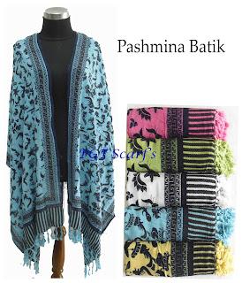 souvenir gift pashmina selendang batik katun silk dobby sifon atbm