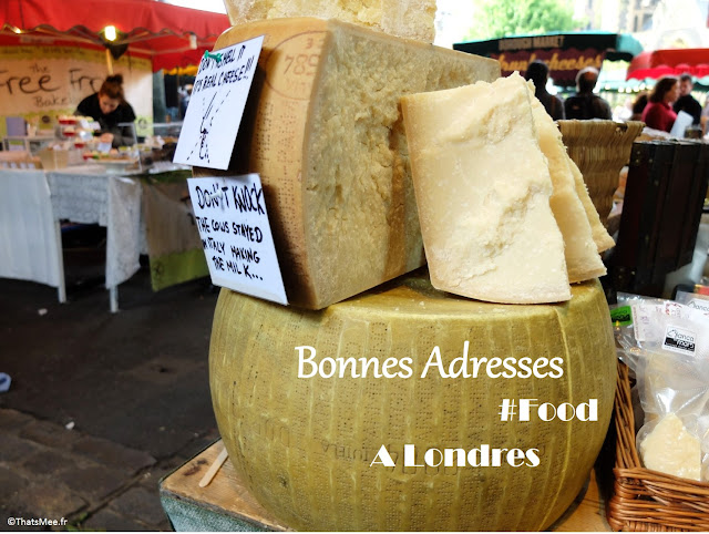 Stand fromage géant big cheese Borough Market à Londres