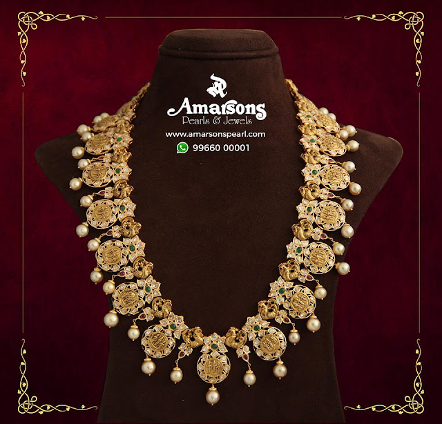 Nakshi Ramparivar Pendant by Amarsons Jewellers