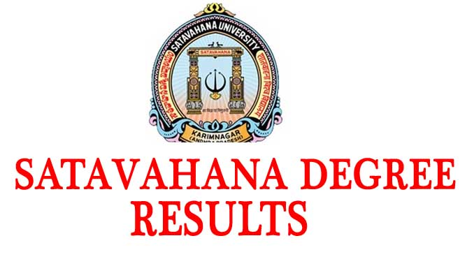 Sathavahana University Degree Results