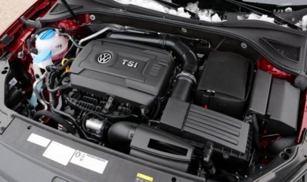 2018 Volkswagen Passat Engine