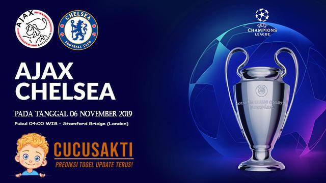 Prediksi Pertandingan Bola Chelsea vs Ajax 06 November 2019