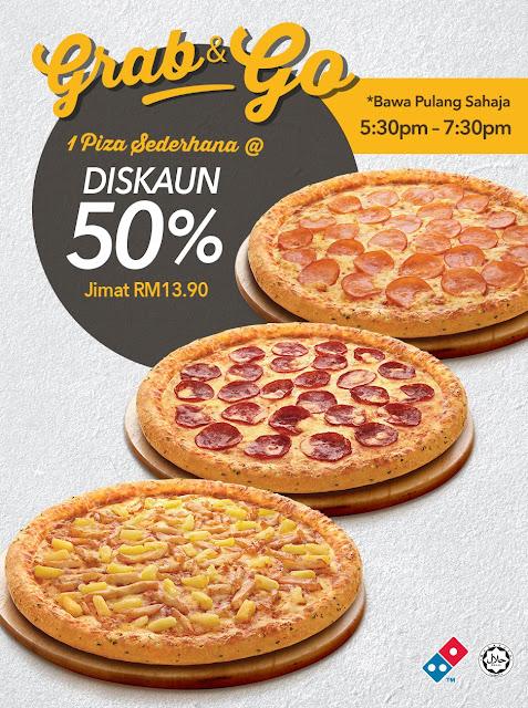 Domino's Pizza Malaysia Grab & Go Promo