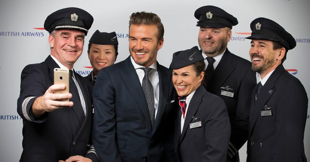 David Beckham Talks Travel To British Airways And Reveals His Unforgettable Family