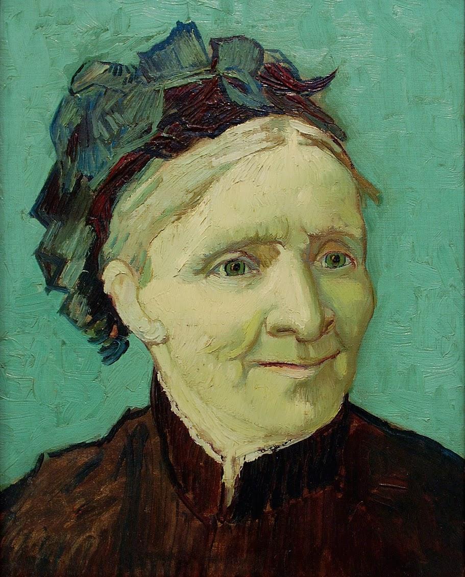 Vincent Van Gogh, Retrato de la madre del artista - Anna Cornelia Van Gogh