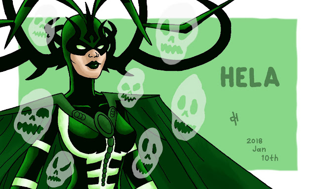 Marvel, Hela