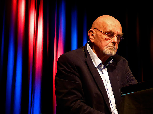 Hans-Joachim Roedelius live @ dasHaus, Enjoy Jazz Festival 2016 / photo S. Mazars