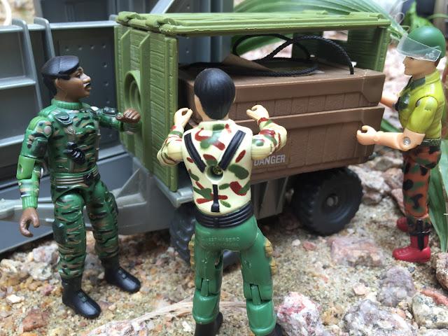 1997 Stalker, Stars & Stripes, TRU Exclusive, 1983 Wolverine, Snake Eyes, 2017, The General, Red Laser Army, 2005, HAS, Cobra Soldado, Black Major, Cobra Trooper, 1987, Coastal Defender, Duke, Grunt