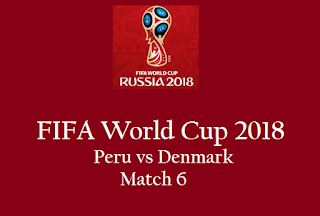 Peru vs Denmark Live Stream