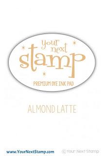 Premium Dye Ink Pad Almond Latte