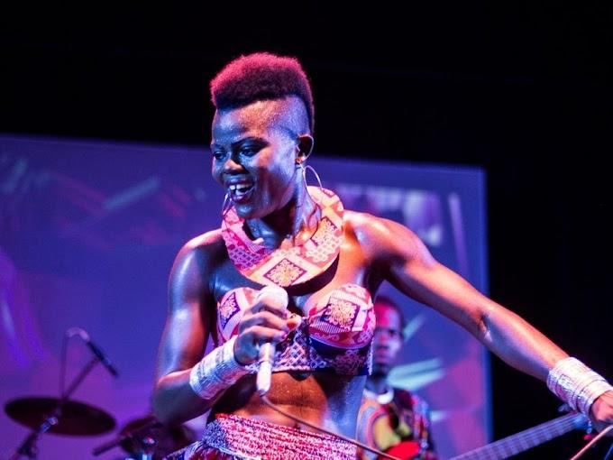 Wiyaala heads to Kenya to record with Falsetto Chorus