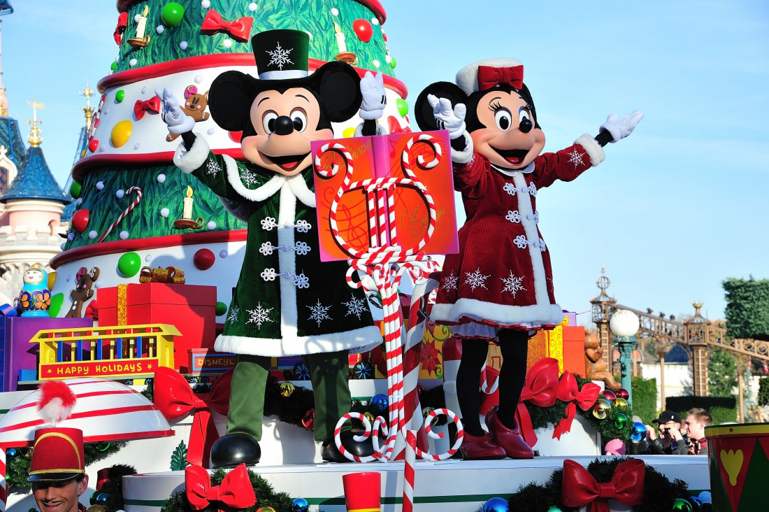 Christmas Day every day at Disneyland Paris | AnnMarie John